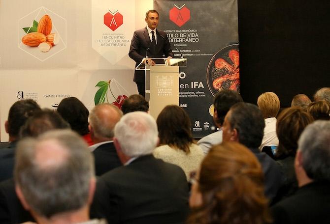 César Sánchez quiere que se regule la dieta mediterránea en los ...