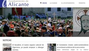 web Ayuntamiento de Alicante